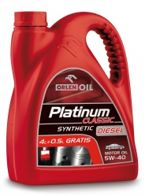 PLATINUM CLASSIC DIESEL SYNTHETIC 5W-40