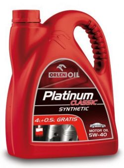 PLATINUM  CLASSIC SYNTHETIC 5W - 40